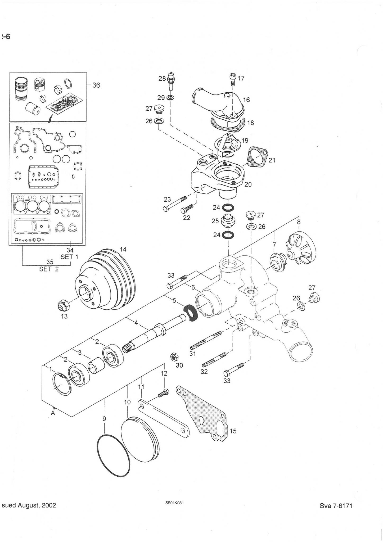 Case IH Tractor CS68 CS75 & Steyr M968 M975 Parts Manual